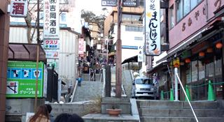 普段の石段街