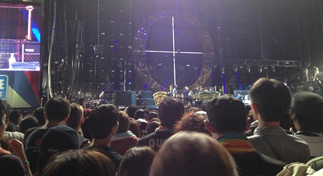 ステージ近景