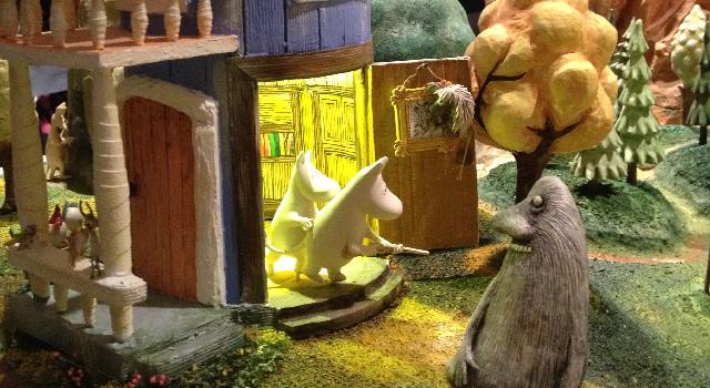 ムーミン谷の人形