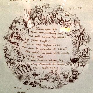 トーベ・ヤンソンさんの手紙